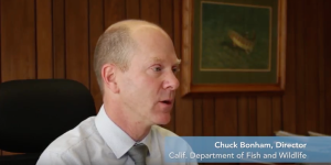 California Department of Fish & Wildlife Director, Chuck Bonham, discusses his support of the Sustainable Conservation-sponsored Habitat Restoration & Enhancement Act passed in 2014.
