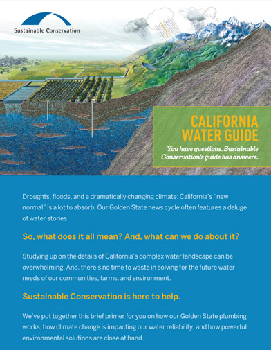 California Water Guide cover