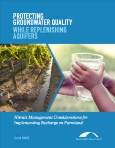 This nitrate management brief is a summary of the nitrate-specific findings from the research paper and is intended for growers, water planners, and communities.